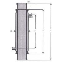 Buy cheap Jacketed Pipe Sections - Glass Jackets from wholesalers