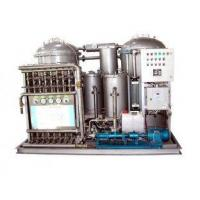 Buy cheap AC 6 kW p Marine Oily Water Separator System with Screw Pum from wholesalers