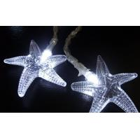 Buy cheap 4.5V-20L-LED light garland with star fish String light from wholesalers