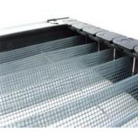 Buy cheap Fiberglass pleated / plisse insect screen from wholesalers