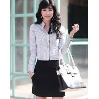 Shirt Concise Intelligent Look Ladies Professional Garment
