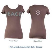 Buy cheap Peace T Shirts in Cotton from wholesalers
