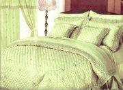 Buy cheap 11pc Cotton blended fully stitched comforter set plus sheet sets from wholesalers