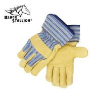 Buy cheap Premium Grain Pigskin Leather Palm Gloves - Short Cuff from wholesalers