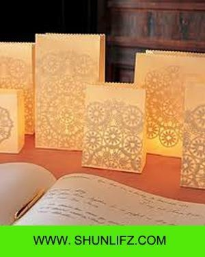 Buy cheap Paper crafts Luminary paper bags from wholesalers