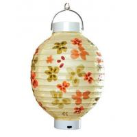 Buy cheap Paper crafts Colorful battery lantern from wholesalers
