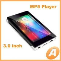 Buy cheap 3.0 inch TFT MP5 Player with Mp3 / Mp4 Function from wholesalers