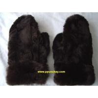 Buy cheap PERU SOFT AND NICE FUR BABY ALPACA GLOVES MITTENS PPUNCHAY from wholesalers