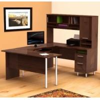 Buy cheap Desks Aero Lite U Shape Desk with Hutch from wholesalers