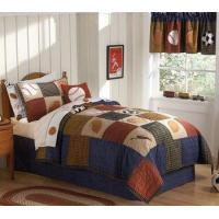Buy cheap Classic Sports Twin Boys Quilt Bedding Bed in a Bag Set from wholesalers