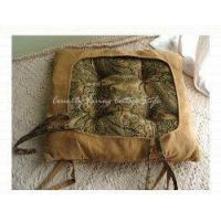 Buy cheap Gorgeous Franch Green Suede Chair Pad/Chair Cushion from wholesalers