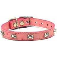 Buy cheap Faux Ostrich Bone Leather Dog Collar from wholesalers