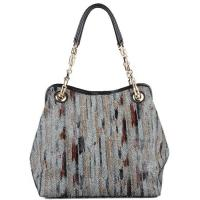 Buy cheap Genuine Cowhide Leather Fish Scale Shopper Bag from wholesalers