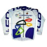 Buy cheap Personalised Breathable Long Sleeve Customized Printed Cycling Jerseys Bicycle Wears from wholesalers