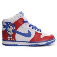 Buy cheap Sonic The Hedgehog Nikes Dunk High Blue Red Men Shoes Hot Sale from wholesalers