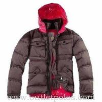 Buy cheap Moncler Two Tone Rentilly Sport Jackets Coffee Pink from wholesalers