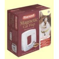 Buy cheap Staywell 400 Magnetically Operated Cat Flap - Color White from wholesalers