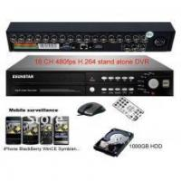 Buy cheap 16CH 480fps H.264 advanced stand alone Net DVR+1TB from wholesalers