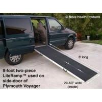 Buy cheap 6' Double-fold Detachable Literamp Portable Wheelchair Ramp from wholesalers