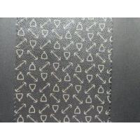 Buy cheap Embossed Pattern Softness Handfeeling PU Coated Leather Waterproof, Anti-Mildew for Bags from wholesalers