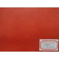 Buy cheap Various Color Garment PU Artificial Leather Cotton Backing with Good Elastic Strenghth from wholesalers
