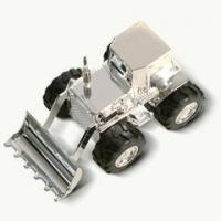 Buy cheap Silver Plated Tractor Digger Money Box from wholesalers