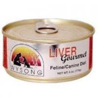 Buy cheap Wysong Gourmet Liver Dog & Cat Food 24/5.5 oz Cans from wholesalers