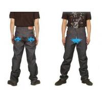 Buy cheap Bape A Bathing Ape Blue star Grey Mens Jeans product