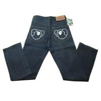 Buy cheap Bape A Bathing Ape Navy White Mens Jeans product