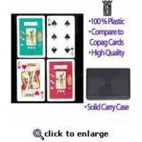 Buy cheap Golf Theme KEM Plastic Playing Cards from wholesalers