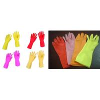 Buy cheap dip flocklined household glove from wholesalers