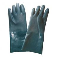 Buy cheap cotton interlock PVC sandy coat work gloves BTM4104 from wholesalers