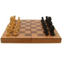Buy cheap TG Wooden Book Style Chess Board w/ Staunton Chessmen from wholesalers