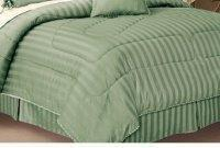 Buy cheap Olympic Queen Bed Skirt, 320 Thread count Sateen Stripe from wholesalers