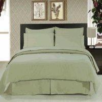 Buy cheap Solid Sage 8-Piece Bedding Set Super Soft Microfiber Sheets+Duvet+Alternative from wholesalers