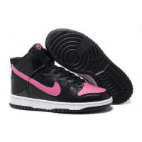 Buy cheap Nike Dunk High Shoes Womens Black PINK from wholesalers