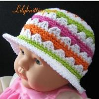Buy cheap PATTERN  Crochet Sunny Hat from wholesalers