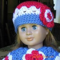 Buy cheap PATTERN  Crocheted Basic Beanie for American Girl Doll from wholesalers