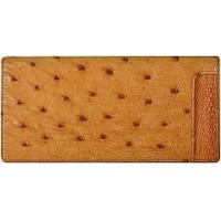 Buy cheap Genuine ostrich leather long bifold wallet OSW2-875A Tan from wholesalers