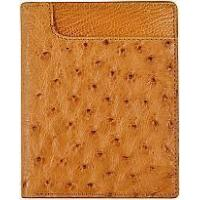 Buy cheap Genuine ostrich leather wallet OSW2-700A Tan from wholesalers