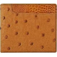 Buy cheap Genuine ostrich leather wallet OSW2-100A Tan from wholesalers