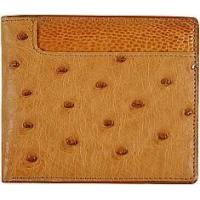 Buy cheap Genuine ostrich leather wallet OSW2-580A Tan from wholesalers