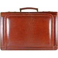 Buy cheap Genuine buffalo leather laptop computer briefcase BBR100-G Brown from wholesalers