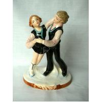 Buy cheap Vintage Schmidt Ice Skaters Figurine - Hand Painted product