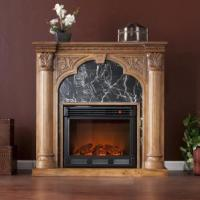 Buy cheap Savino Old World Oak Electric Fireplace from wholesalers