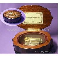 Buy cheap wooden music box movements CMB6 from wholesalers