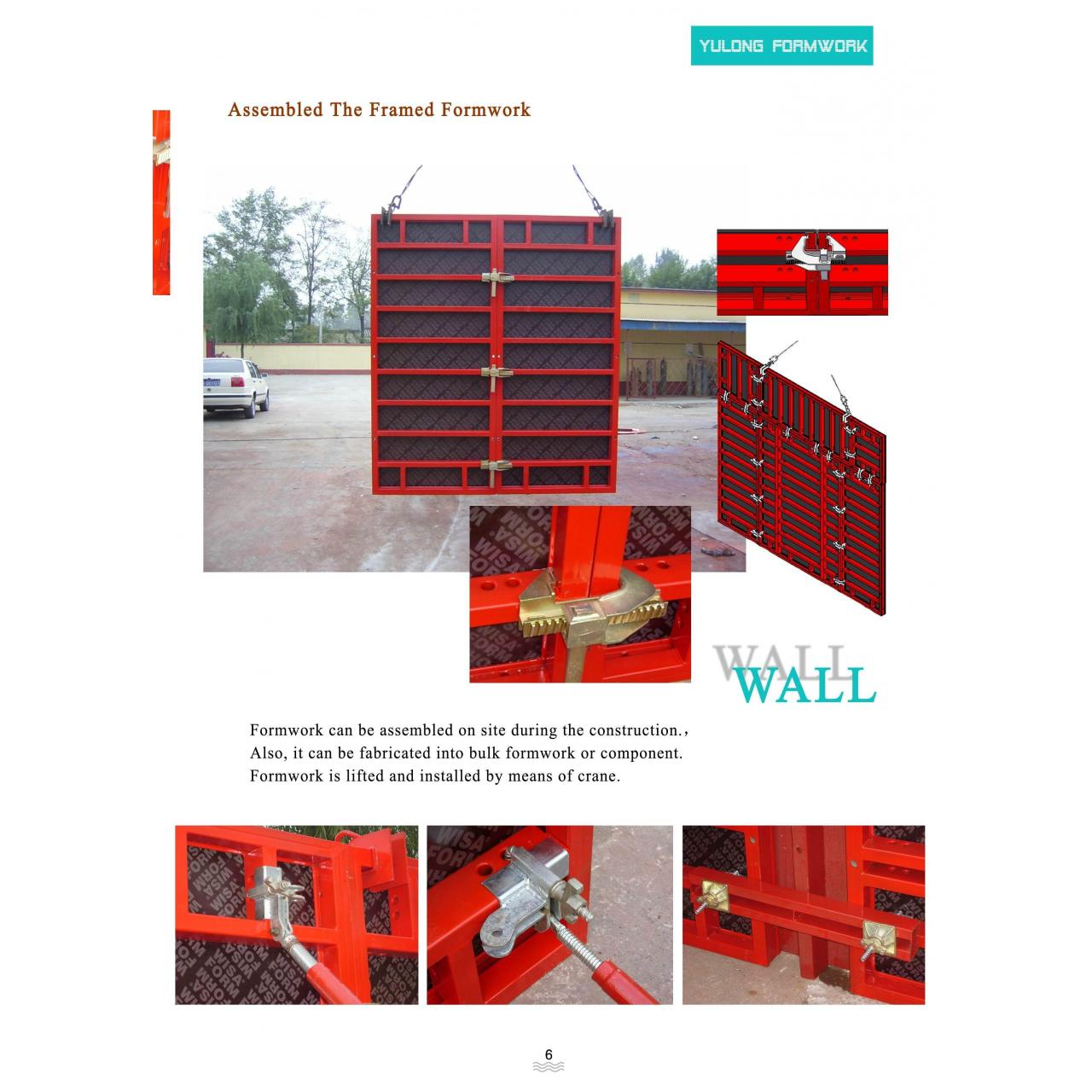Buy cheap Steel Frame Plywood Formwork from wholesalers