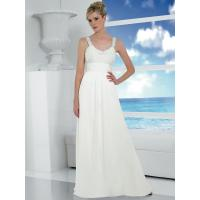 Buy cheap White Simple Wedding Dress from wholesalers