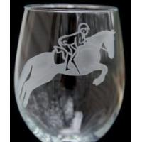 Buy cheap Jumper Horse Wine Glass from wholesalers