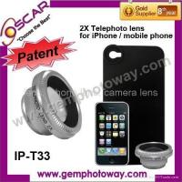 Buy cheap IP-T33 telephoto lens mobile phone Lens mobile phone accessory camera accessory from wholesalers